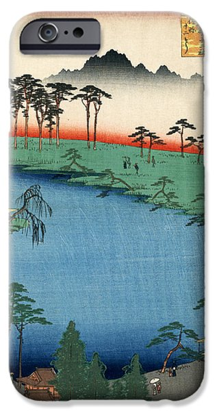 Willow Lake iPhone Cases - Kumanojunisha Shrine iPhone Case by Nomad Art And  Design