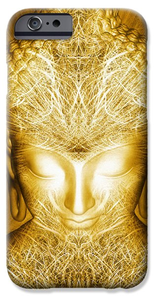 Liberation iPhone Cases - Kundalini Experience iPhone Case by Jalai Lama