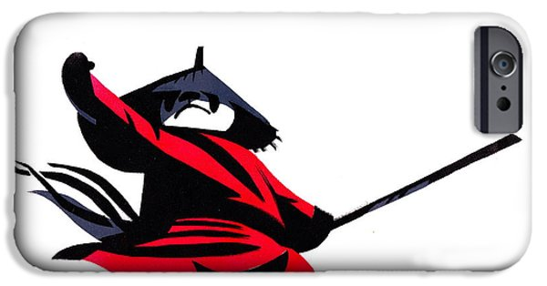 Animation iPhone Cases - Kung Fu Panda iPhone Case by Max Good