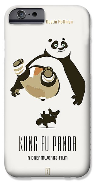 Animation iPhone Cases - Kung Fu Panda iPhone Case by Smile In The  Mind