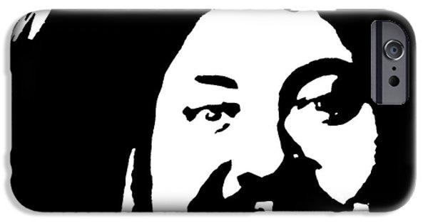 Police Art iPhone Cases - Kurts Law     Help please read description iPhone Case by Chris DeVries