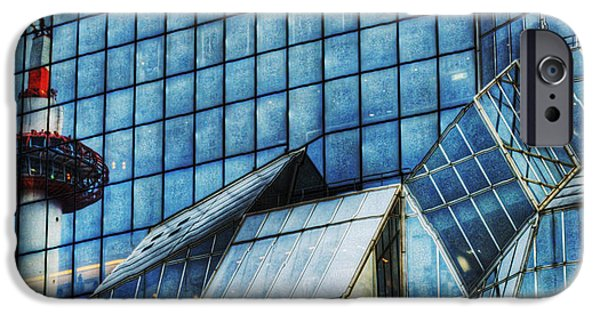 Facade iPhone Cases - Kyoto Train Station iPhone Case by Juli Scalzi