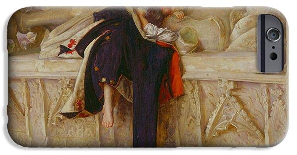 Enfants iPhone Cases - L Enfant du Regiment iPhone Case by John Everett Millais