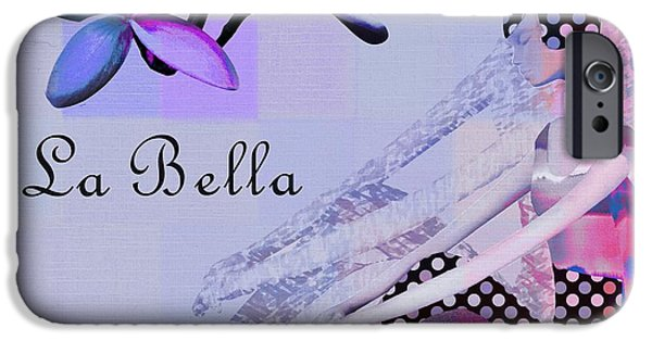 Abstract Realism iPhone Cases - La Bella - j647152-04 iPhone Case by Variance Collections