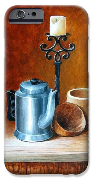 La Cafetera iPhone Case by Edgar Torres