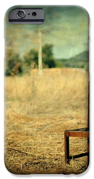 La chaise iPhone Case by Taylan Soyturk