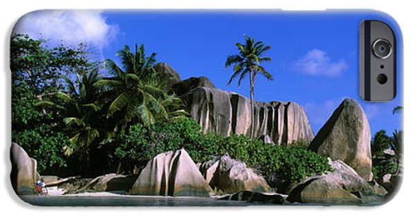 Pleasure iPhone Cases - La Digue, Island, The Seychelles, Africa iPhone Case by Panoramic Images