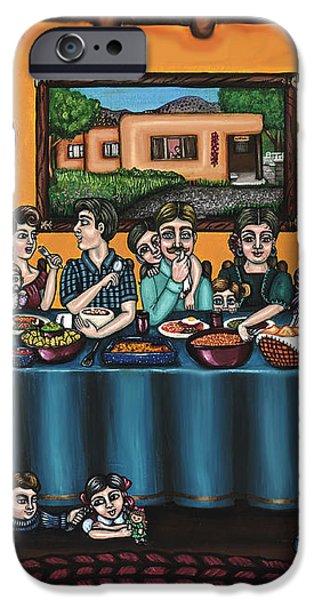 La Familia or The Family iPhone Case by Victoria De Almeida