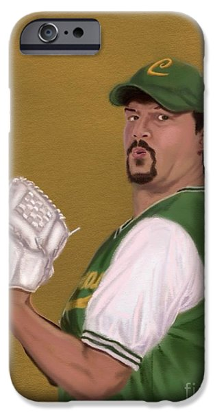Danny Mcbride iPhone Cases - La Flama Blanca iPhone Case by Jeremy Nash