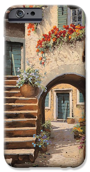 Arches iPhone Cases - La Porta Dopo Larco iPhone Case by Guido Borelli