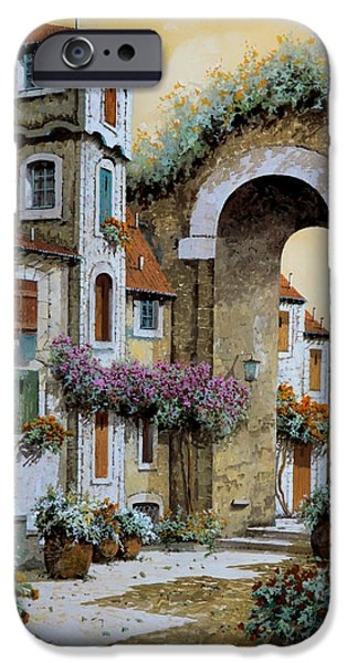 Tower iPhone Cases - La Torre iPhone Case by Guido Borelli