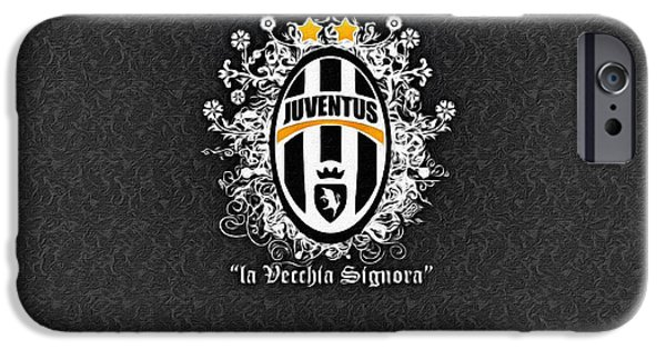 Turin Digital Art iPhone Cases - La Vecchia Signora iPhone Case by Florian Rodarte