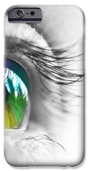 La vie en couleurs iPhone Case by Delphimages Photo Creations