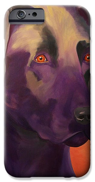 Lab Print iPhone Cases - Lab Vigil iPhone Case by Jody Wright