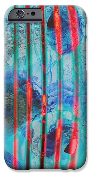 Mix Medium iPhone Cases - Lacerations Have Wounded  iPhone Case by Jerry Cordeiro