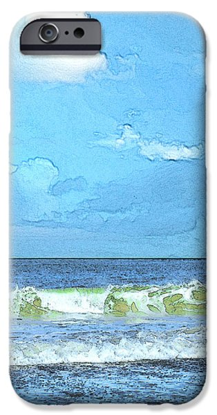 Storm Clouds Cape Cod iPhone Cases - LaCount Hollow iPhone Case by William Sargent