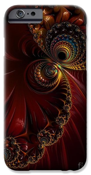 Strange iPhone Cases - Lacquered  iPhone Case by Heidi Smith