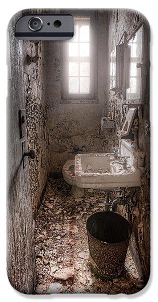 Ladies room iPhone Case by Gary Heller