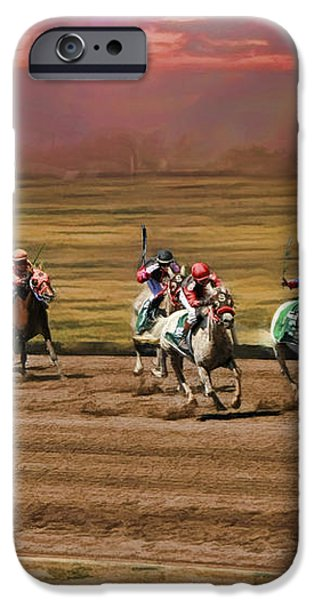 Ladies World Chapionship Ladies Cup Missing One Lady iPhone Case by Blake Richards
