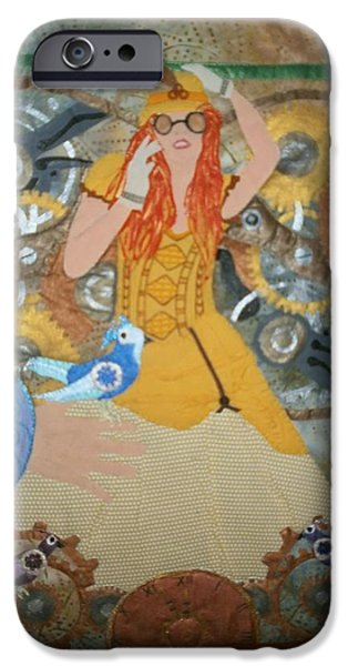 One Tapestries - Textiles iPhone Cases - Lady Bird iPhone Case by Linda Egland