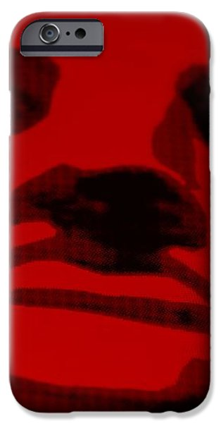 LADY LIBERTY in RED iPhone Case by ROB HANS
