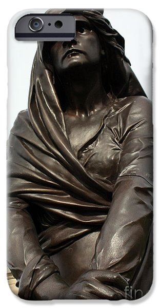 Lady MacBeth in Stratford Out damned spot  iPhone Case by Terri  Waters