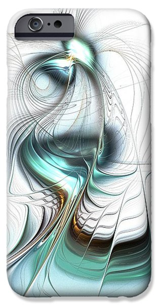 Legend iPhone Cases - Lady of the Lake iPhone Case by Anastasiya Malakhova