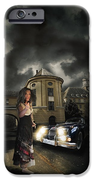 Barrack iPhone Cases - Lady of the night iPhone Case by Nathan Wright