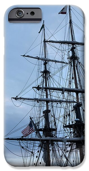 44th President iPhone Cases - Lady Washingtons Masts iPhone Case by Heidi Smith