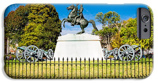 Constitution iPhone Cases - Lafayette Square iPhone Case by Greg Fortier