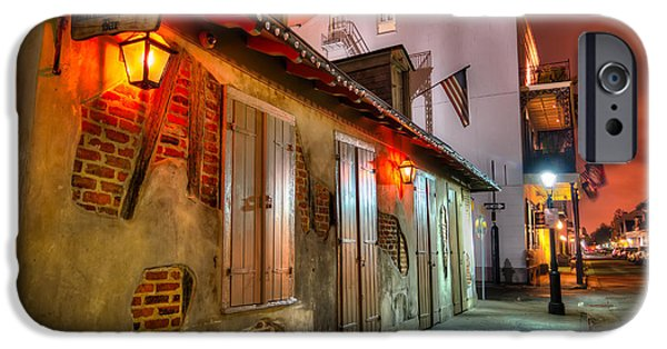 French Quarter iPhone Cases - Lafittes Blacksmith Shop iPhone Case by Tim Stanley