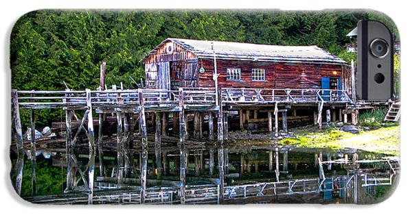 Canada Photograph iPhone Cases - Lagoon Cove iPhone Case by Robert Bales