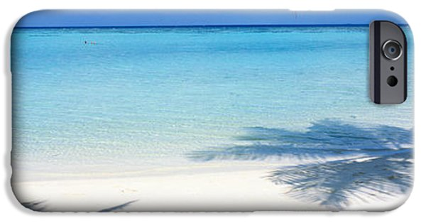 White Sand iPhone Cases - Laguna Maldives iPhone Case by Panoramic Images