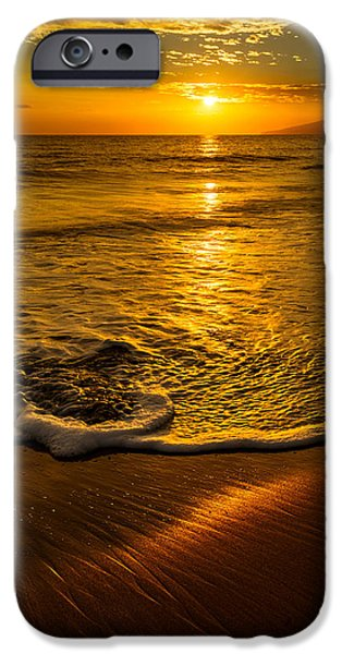 Ocean iPhone Cases - Lahaina Glow iPhone Case by Jamie Pham