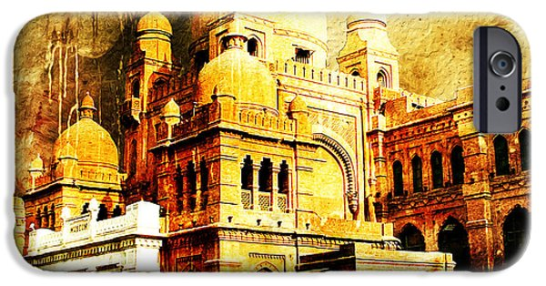 Pakistan iPhone Cases - Lahore Museum iPhone Case by Catf