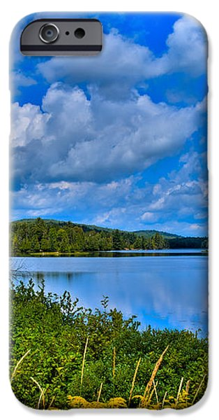 Lake Abanakee - Indian Lake New York iPhone Case by David Patterson