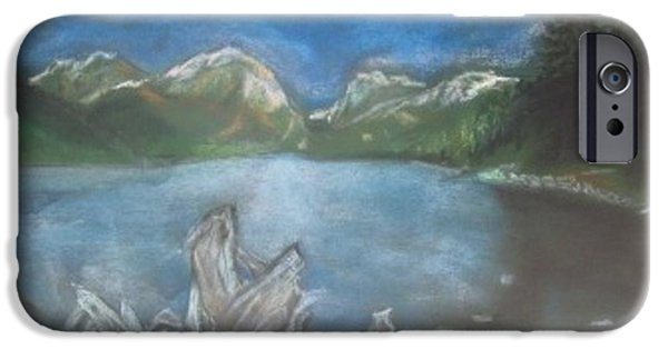 Buy Pastels iPhone Cases - Lake before the storm iPhone Case by Igor Kotnik