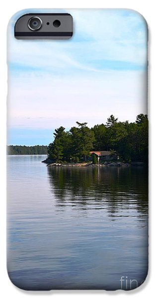 Lake Champlain 10 iPhone Case by Sarah Holenstein
