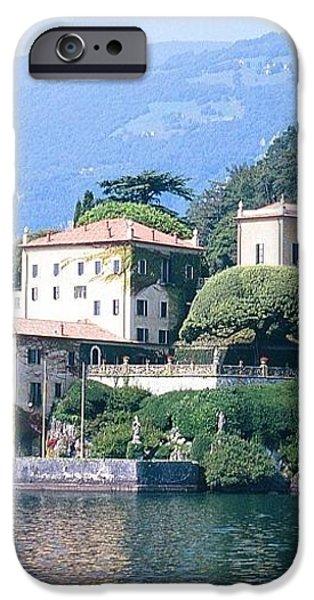 Lake Como Palace iPhone Case by Greta Corens