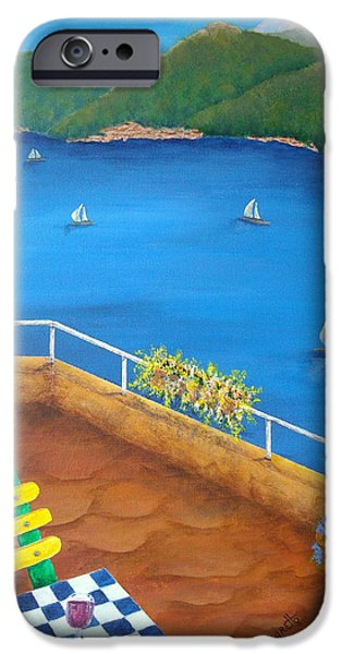 Lake Como iPhone Case by Pamela Allegretto