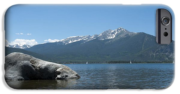 Reservoir iPhone Cases - Lake Dillon iPhone Case by Juli Scalzi