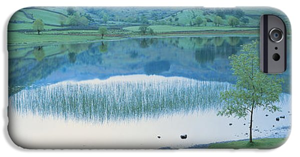 Pathway iPhone Cases - Lake District England iPhone Case by Panoramic Images