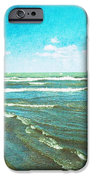 Lake Erie Whitecaps  iPhone Case by Shawna  Rowe
