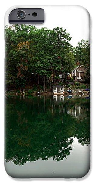 Lake Erskine iPhone Case by John Rizzuto