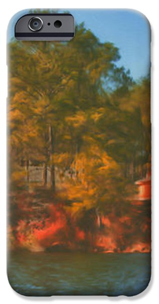 Lake House iPhone Case by Brenda Bryant