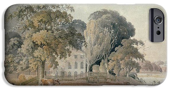 Mansion iPhone Cases - Lake House, Epping iPhone Case by J.S. Barth