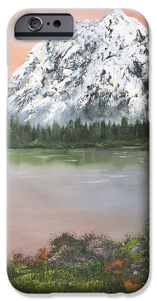 Lake in Austria iPhone Case by Jean Walker