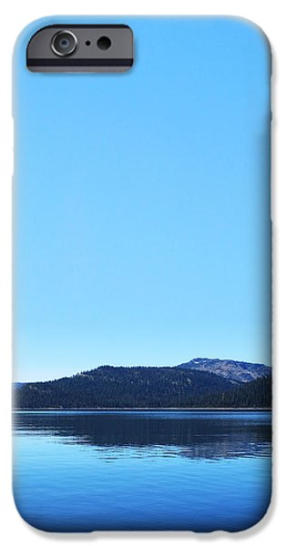Lake in California iPhone Case by Dean Drobot