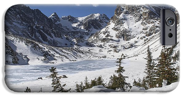 Nederland iPhone Cases - Lake Isabelle iPhone Case by Aaron Spong