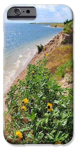 Hershey iPhone Cases - Lake McConaughy Nebraska iPhone Case by Aaron Spong